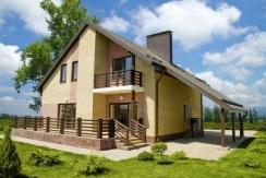 Дом в коттеджном поселке Краснодара от застройщика 170 м2